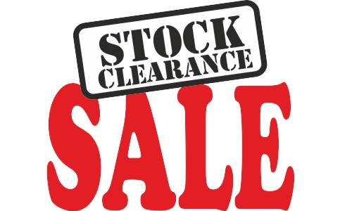 Clearance offers on end of line, discontinued, returns, etc..