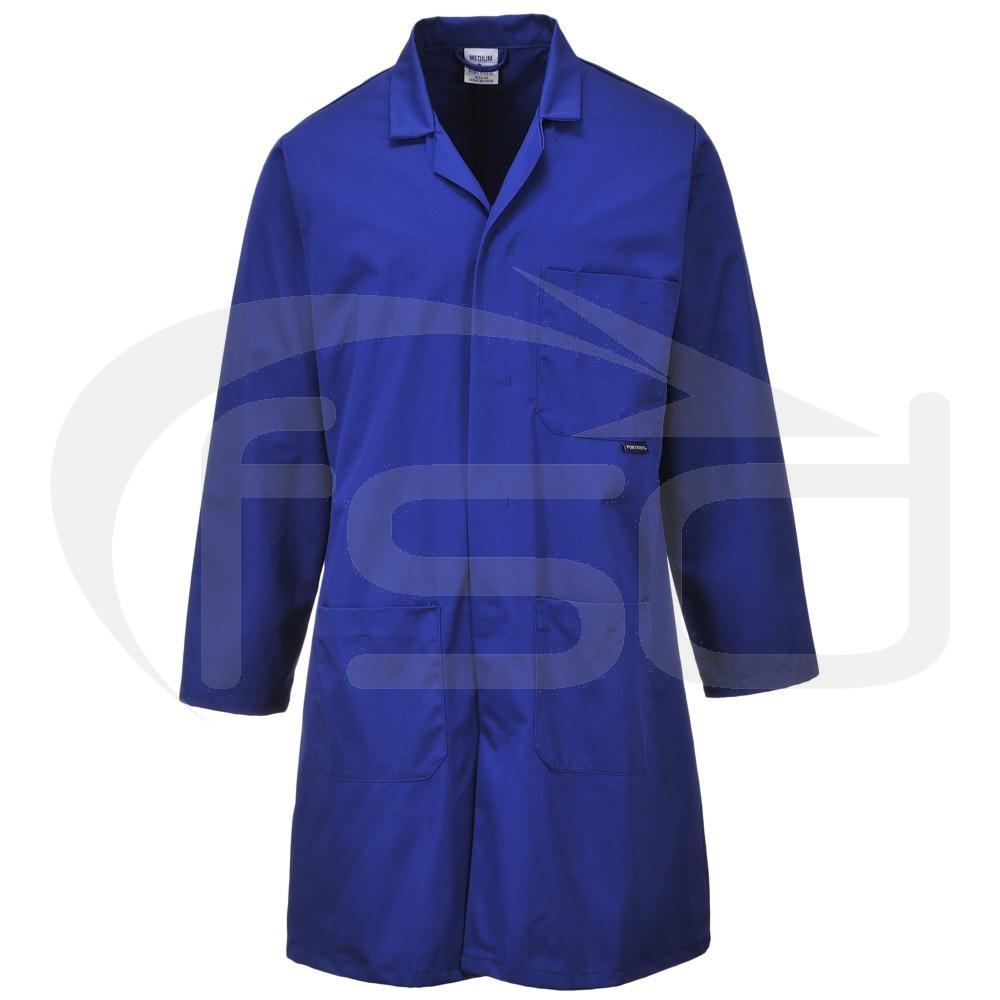 Fortis Standard Warehouse Coat (Royal Blue)