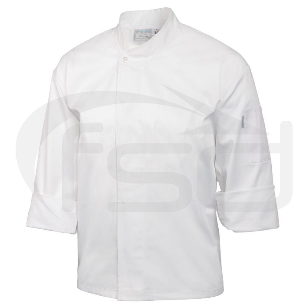 Orlando Chefs Tunic - White