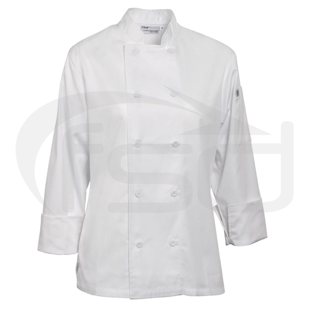 Marbella Ladies Executive Chef Jacket - White