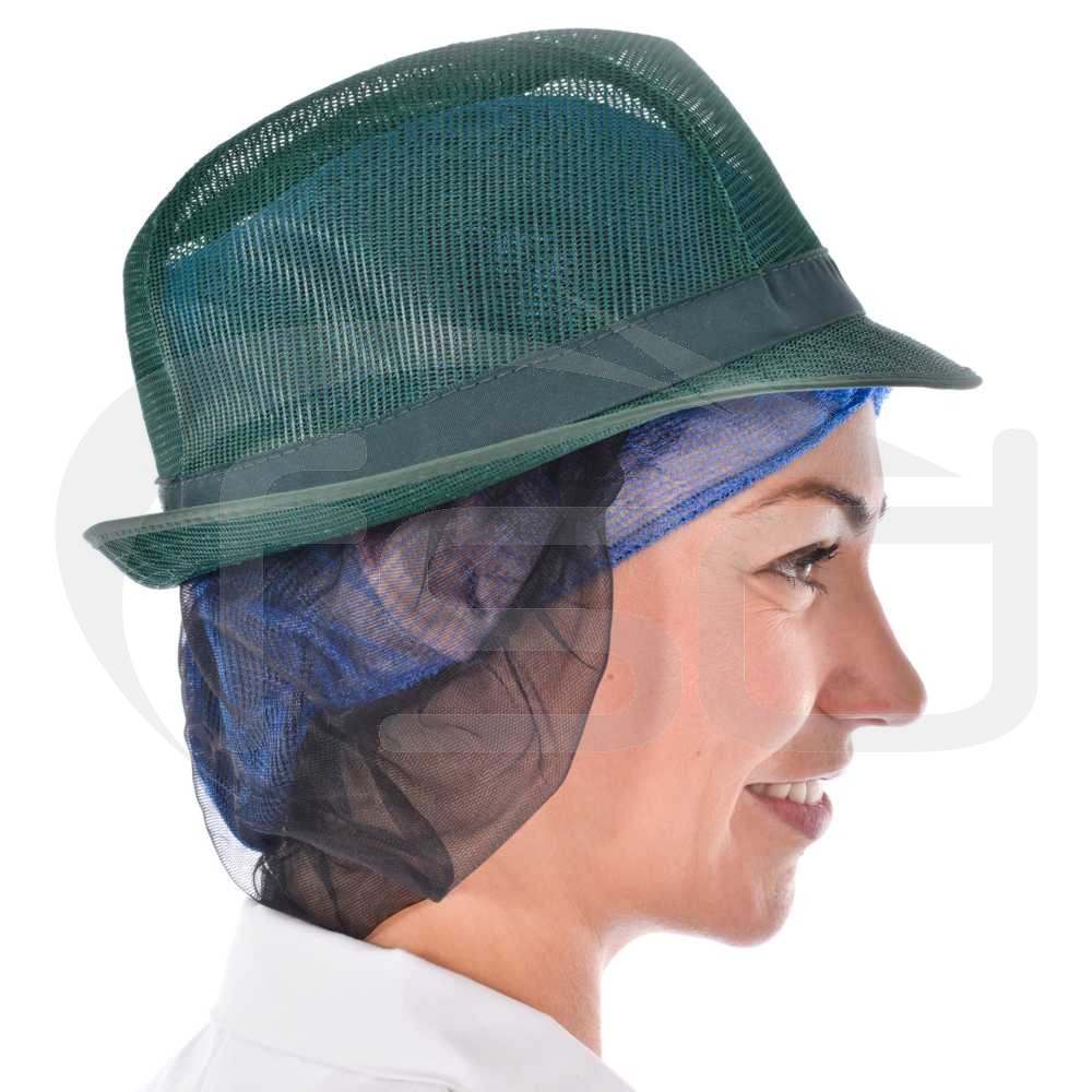 Green Trilby with Snood