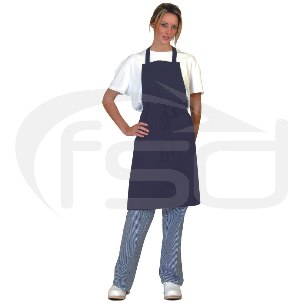 Navy Full Length Apron