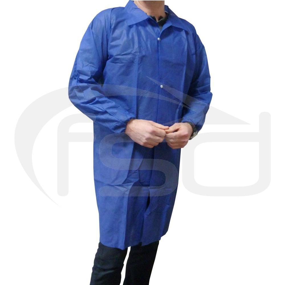 Non-Woven Coat - Blue