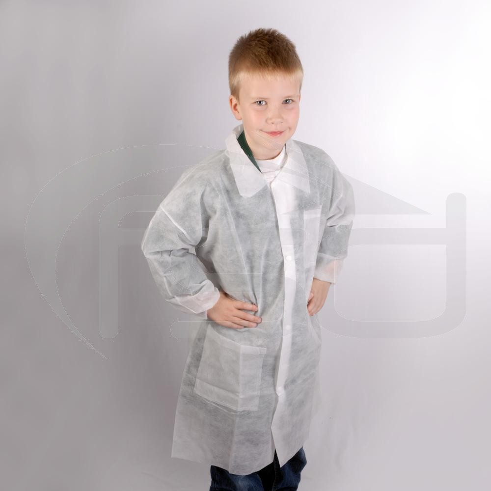 Kids Disposable Coat - Age 6-7 (3XS) One Only