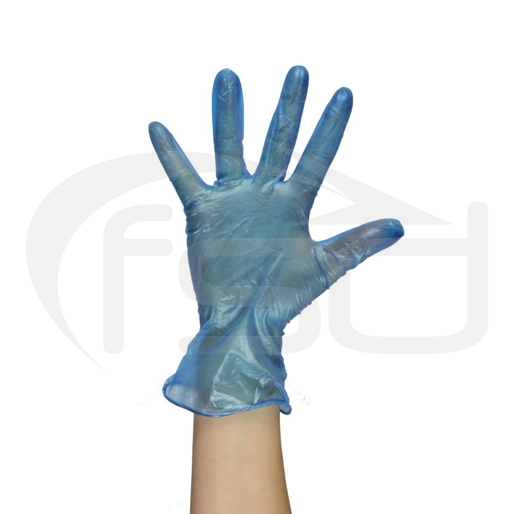 PAL Vinyl Gloves (Powdered) - Blue