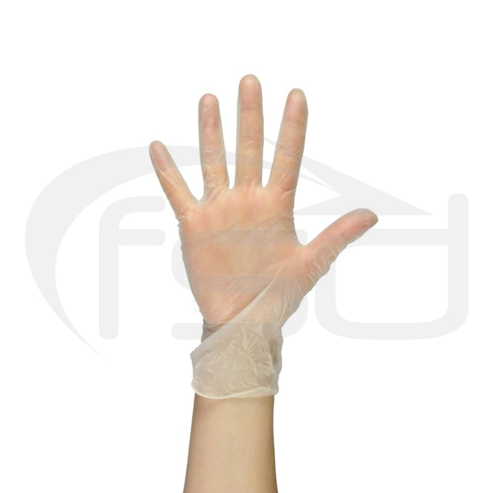 PAL Vinyl Gloves (Powdered) - White (Medium)