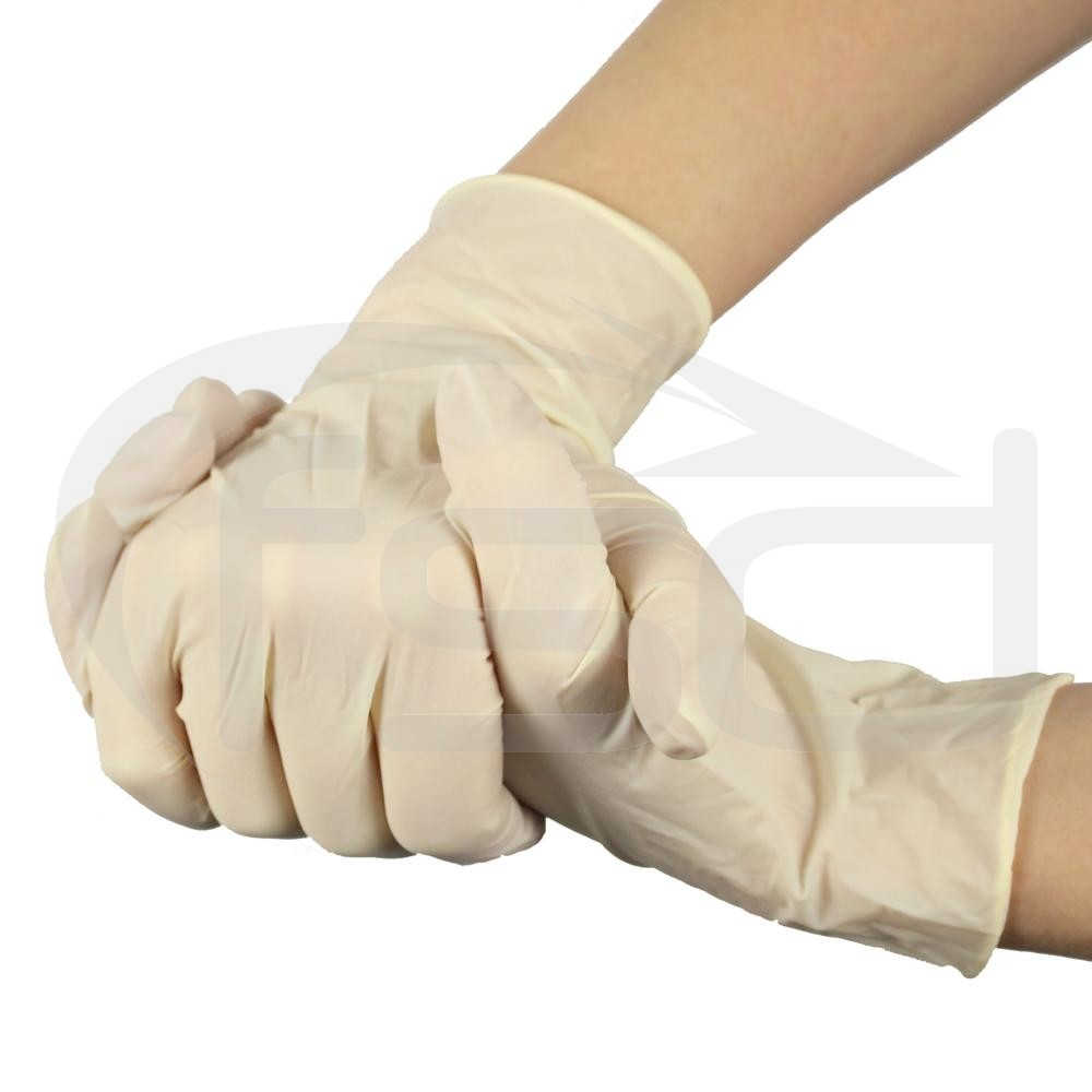 PAL Latex Gloves (Powdered) - Large