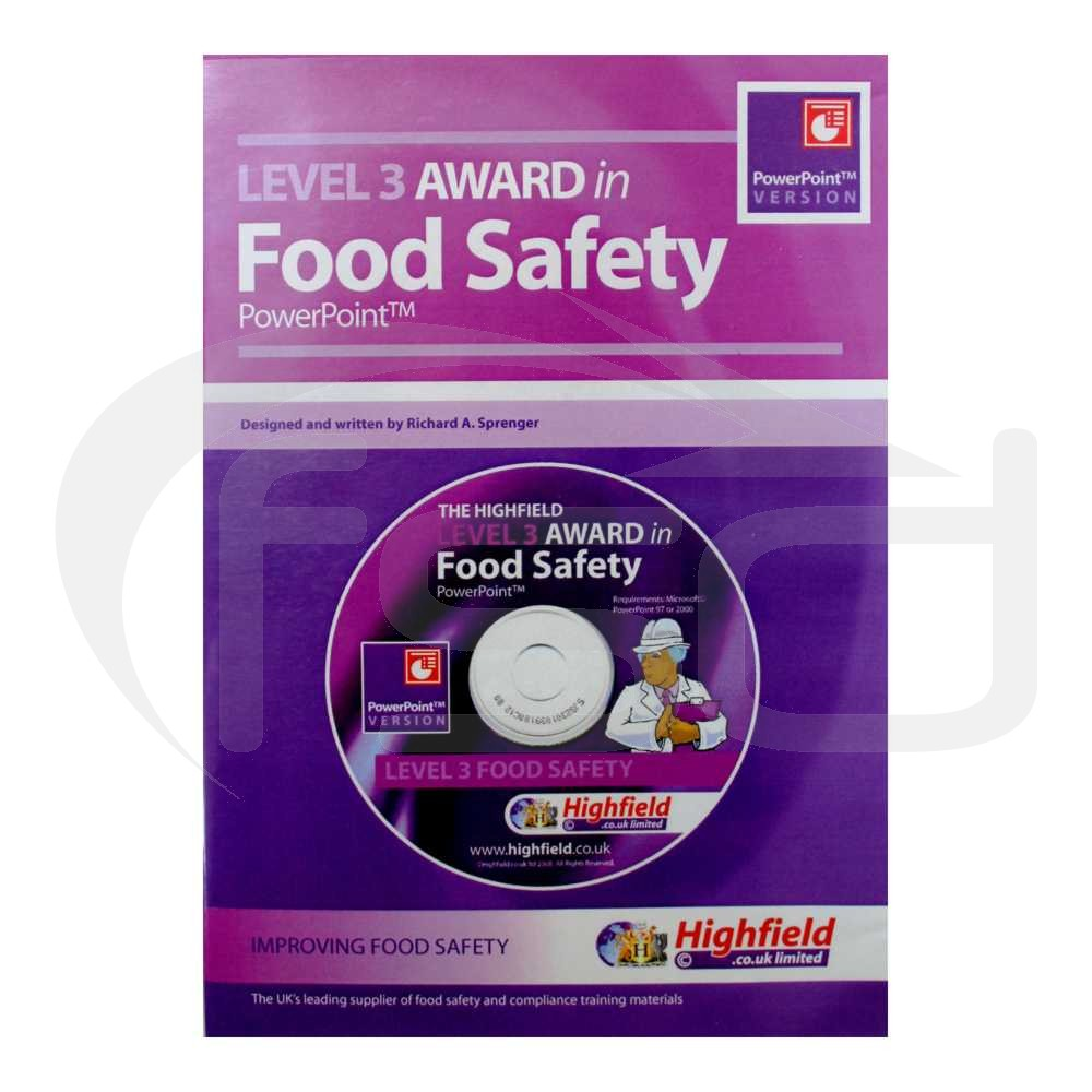 Level 3 Award in Food Safety