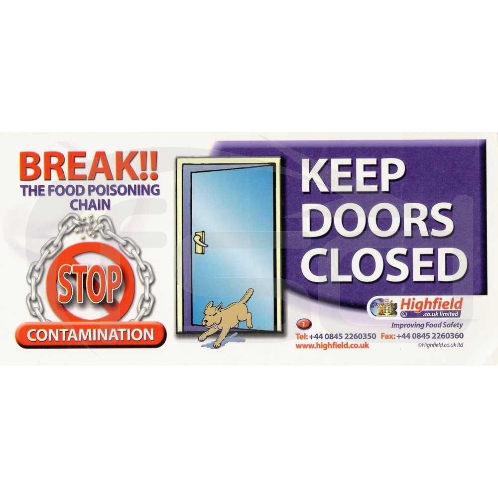 Keep Doors Closed
