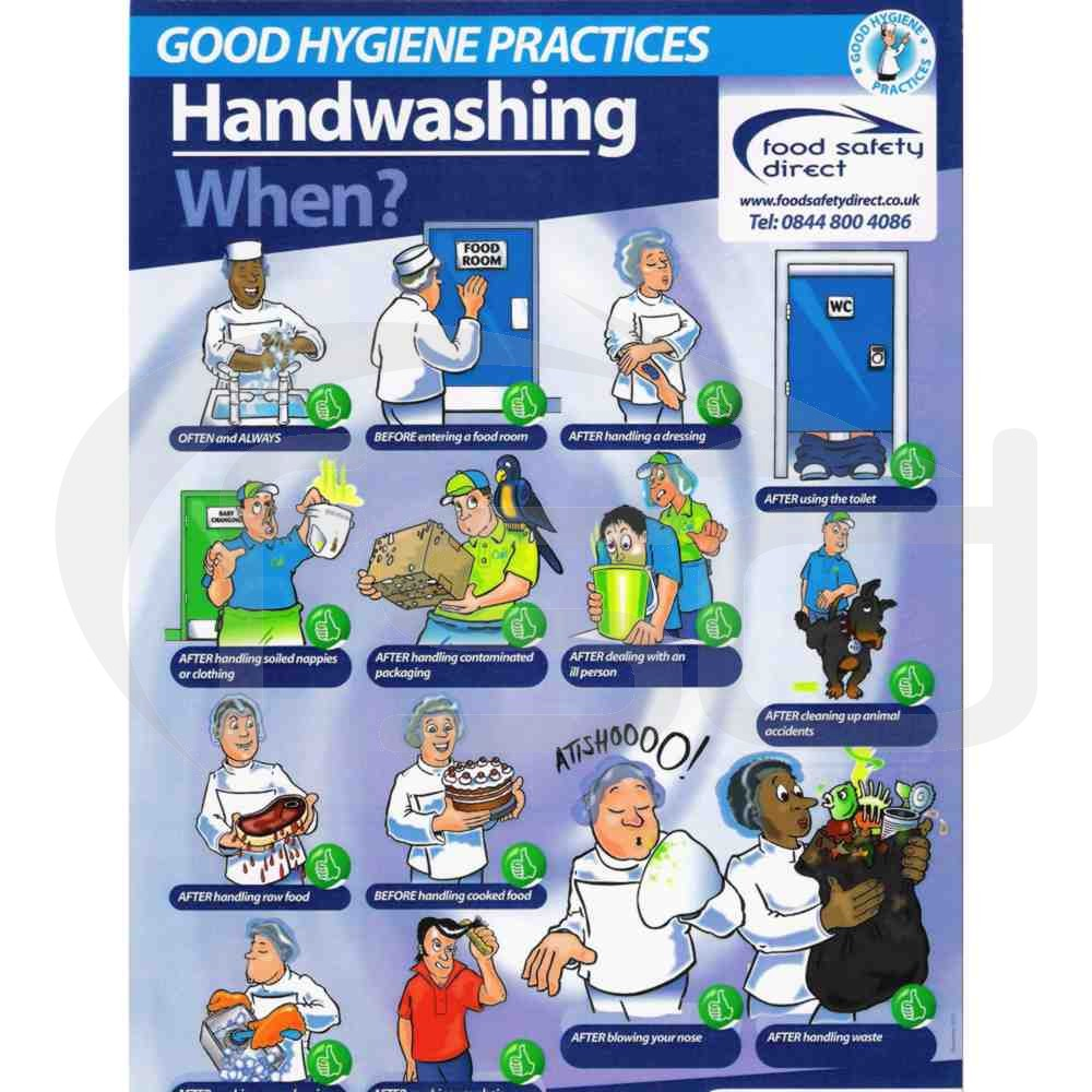 Handwashing - When?