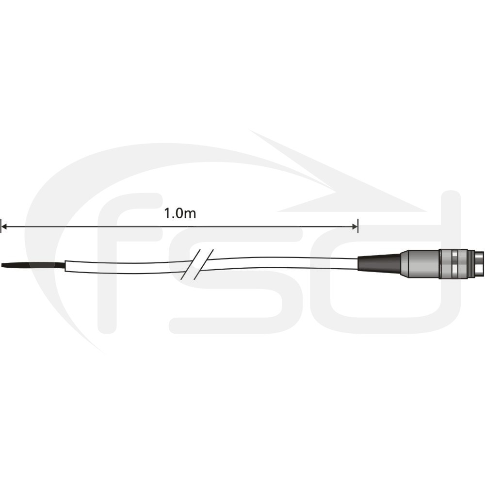 Comark Flexible Wire Air Probe (AX24L)