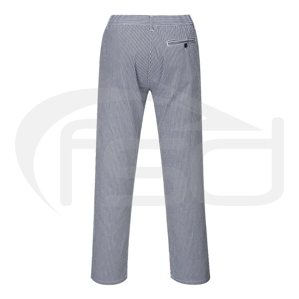 Barnet Chefs Trousers - Small Blue Checks