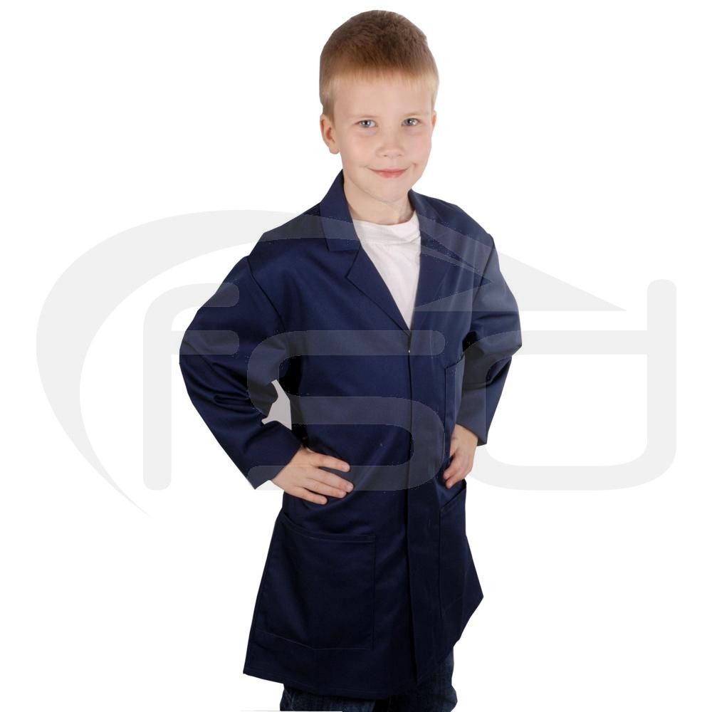 Kids Work Coat (Navy)