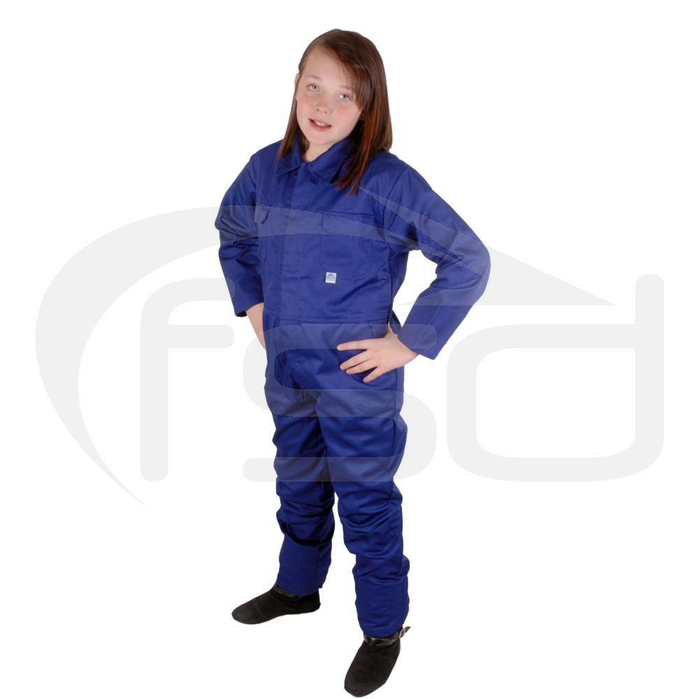 Kids Coveralls (Royal Blue)