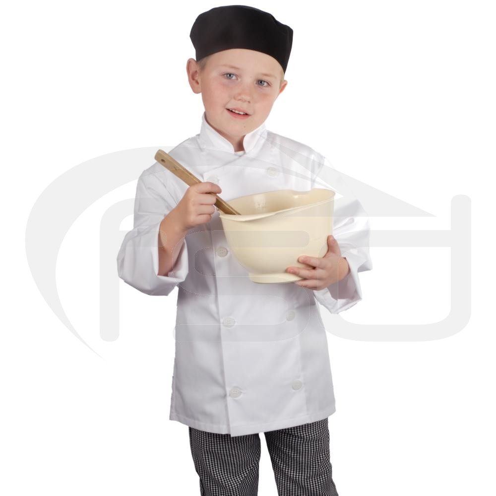 Kids Chef Jacket White Food Safety Direct
