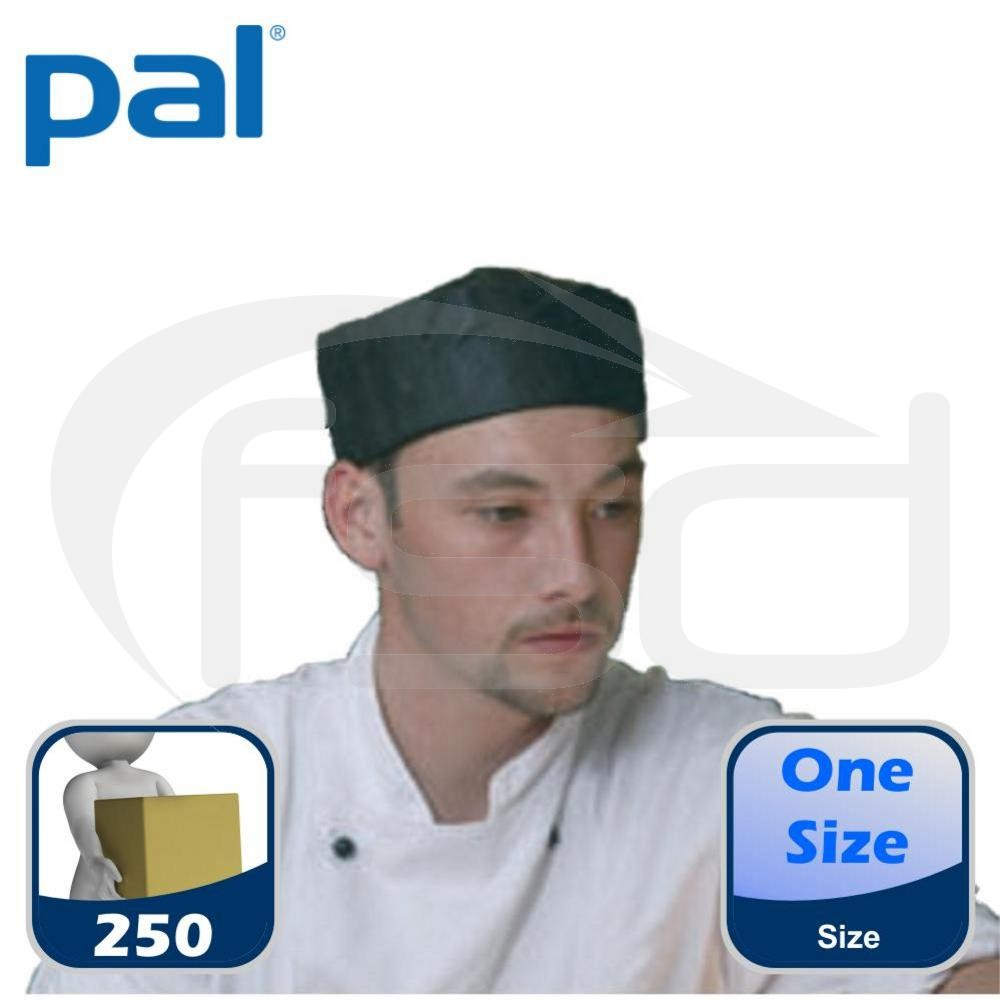 Case of PAL Disposable Skull Caps (Black) (5 x 50)