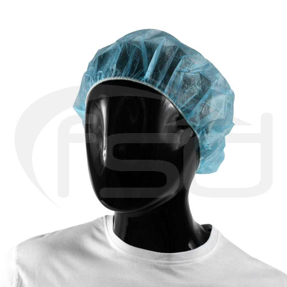 PAL Bouffant Caps (Blue) - Pack of 100