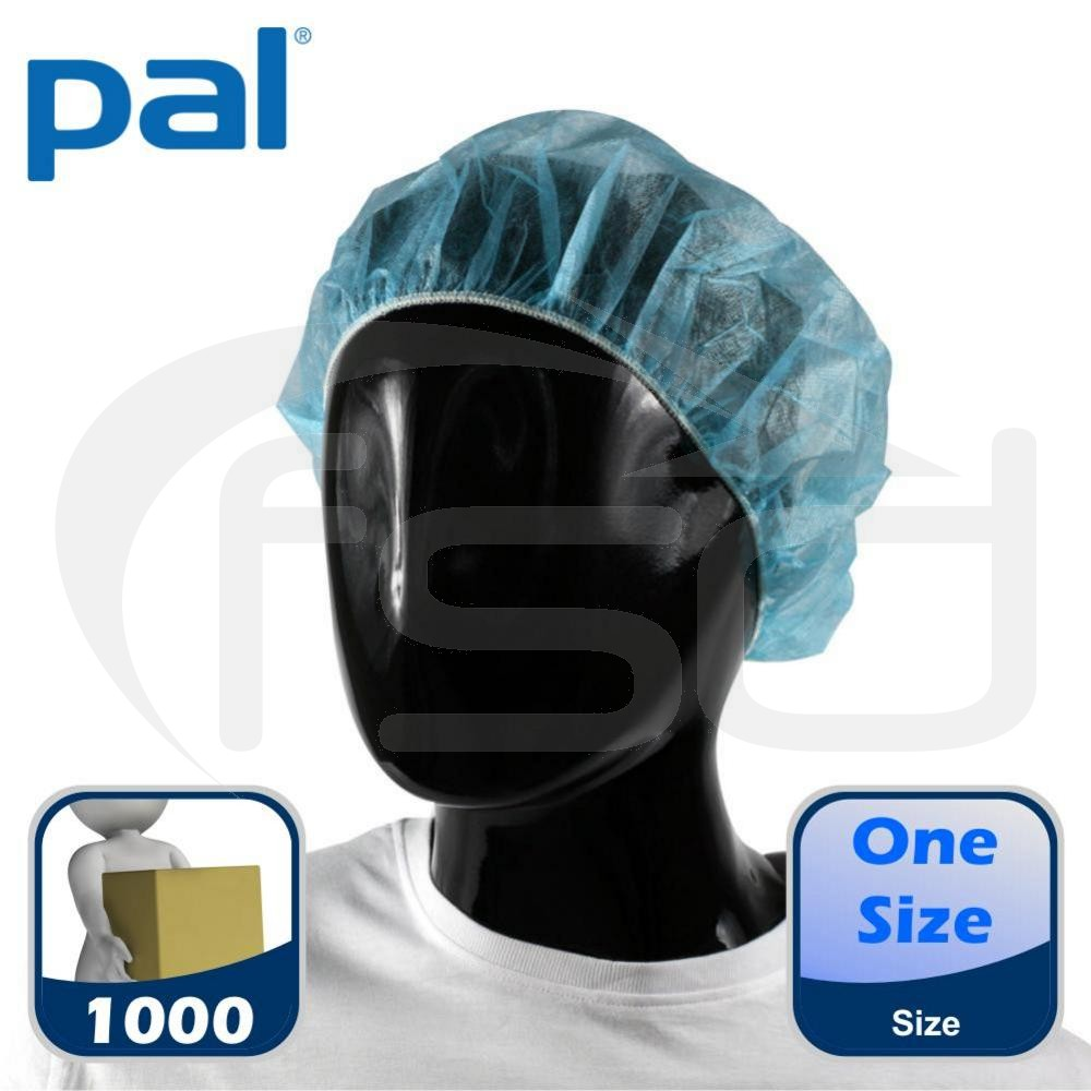 Case of PAL Bouffant Caps (Blue) (10 x 100)