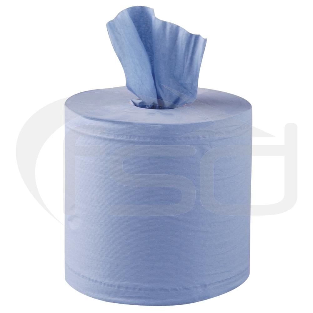 Jantex Centrefeed Blue Roll 2ply 125m (6 Pack)