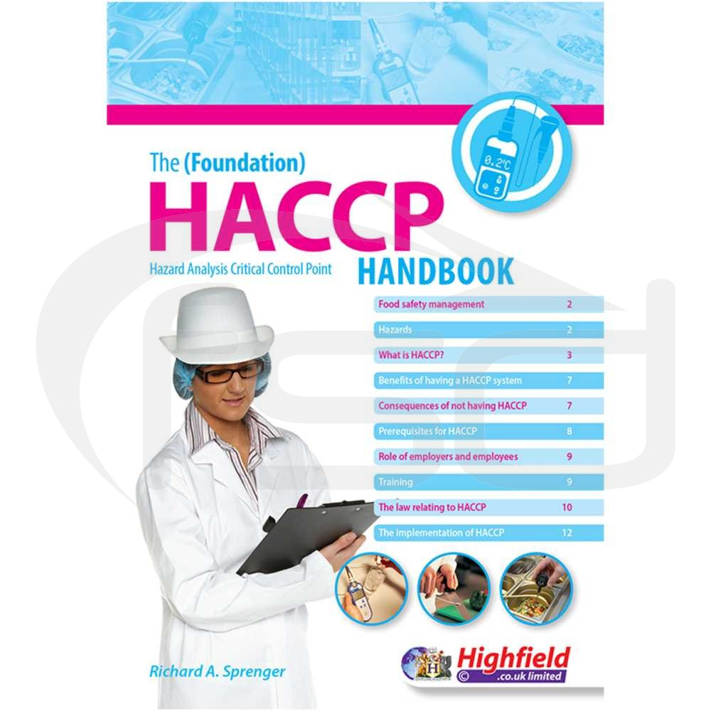 the foundation haccp handbook food safety direct. Black Bedroom Furniture Sets. Home Design Ideas