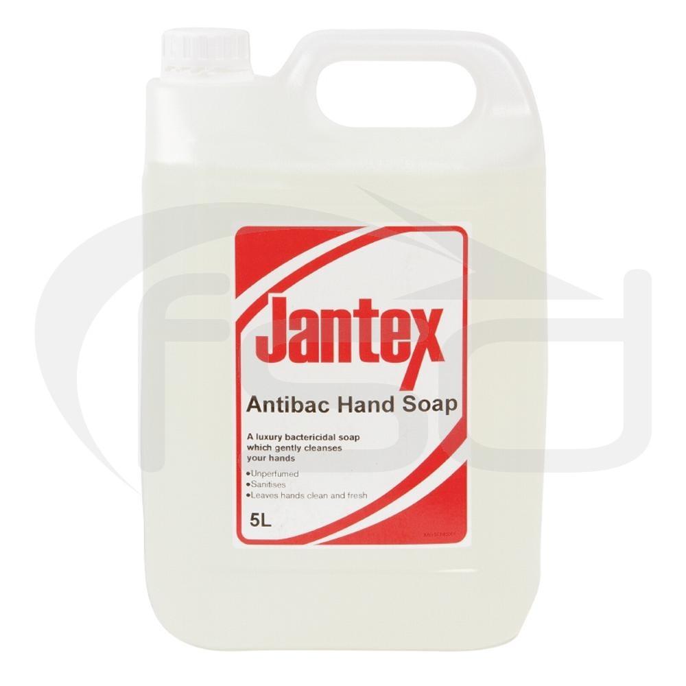 Jantex Anti Bacterial Hand Soap 5Ltr