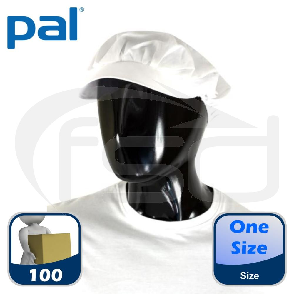 Case of Pal Yorkshire Caps (White) (Qty: 100)