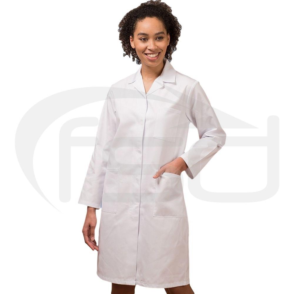 Ladies White Lab Coat
