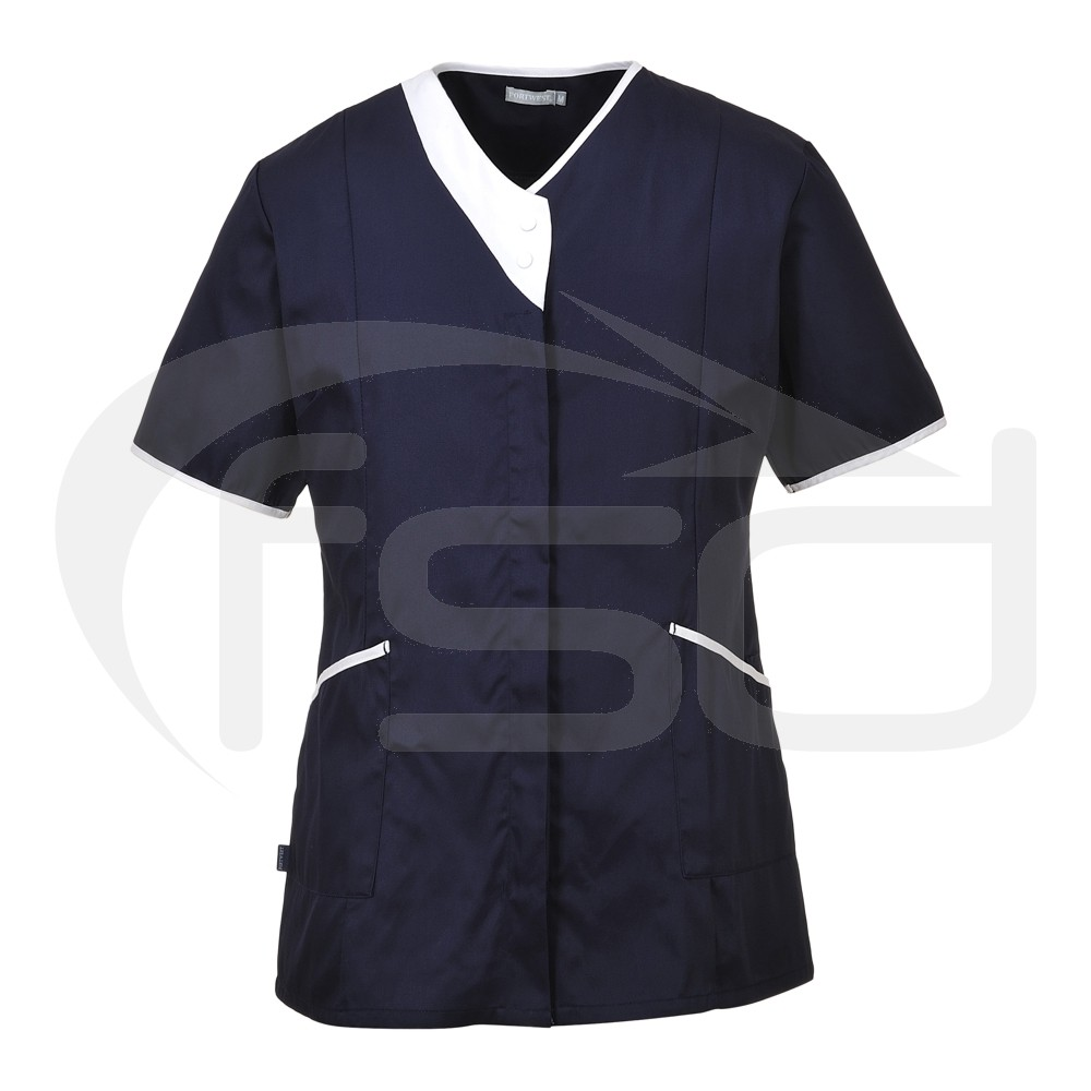 Ladies Modern Healthcare / Beauty Tunic (Range of Colours)