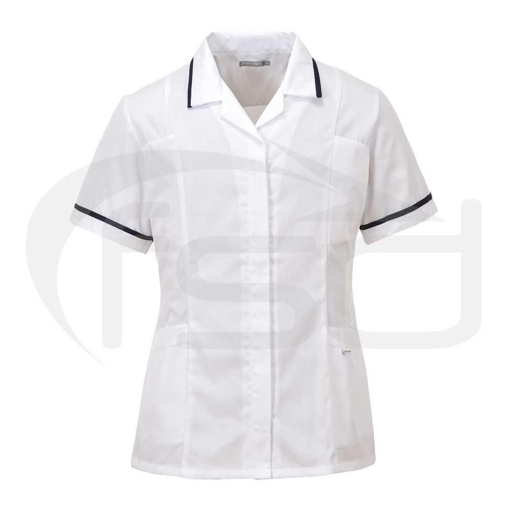 Ladies Classic Healthcare Tunic (White) - M - Brand New Return
