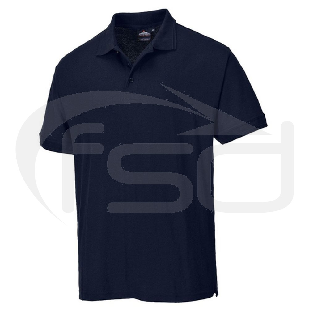 Portwest Navy Blue Polo (Size L)