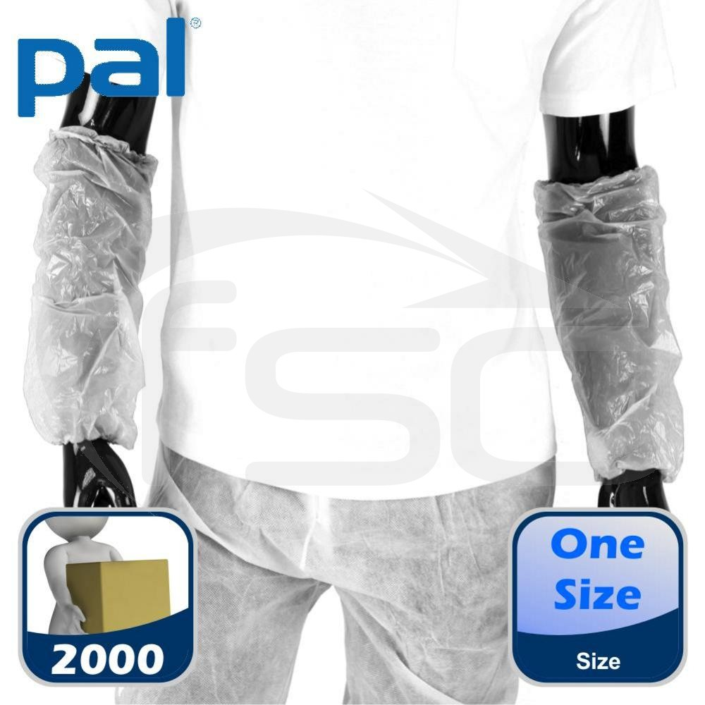 Case of PAL Disposable Oversleeves - White (20 x 100)