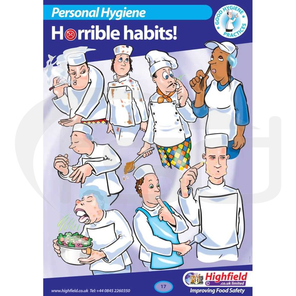 Personal Hygiene - Horrible Habits