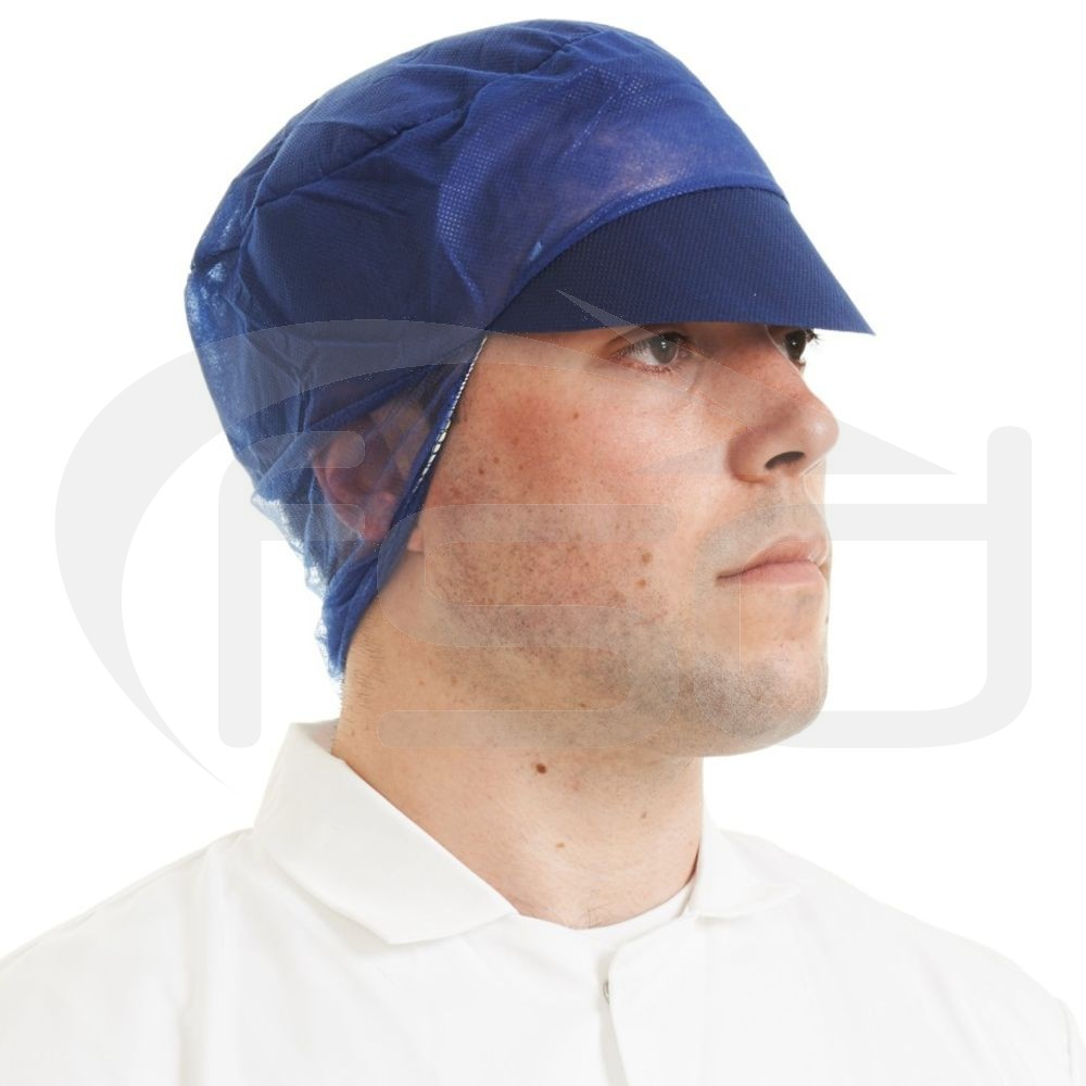 Navy Blue Snood Caps - Pack of 50