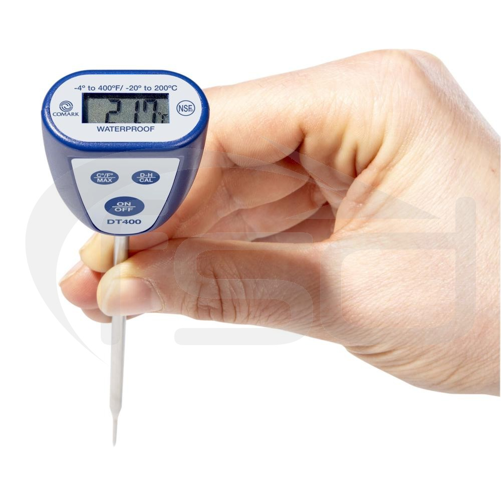 Comark DT400 Waterproof Digital Thermometer (with User Calibration Function)