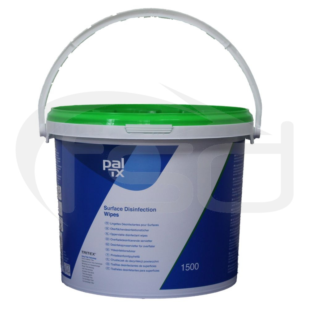 Pal TX Surface Disinfectant Wipes - Bucket of 1500 Wipes