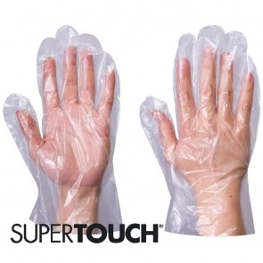 Supertouch Polythene Gloves