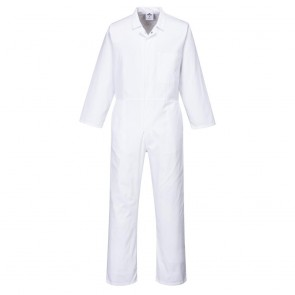 Food Coverall - White