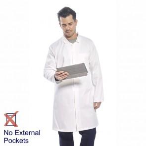 Portwest Food Trade Coat (No External Pockets) - White