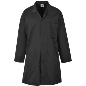 Fortis Standard Warehouse Coat (Black)