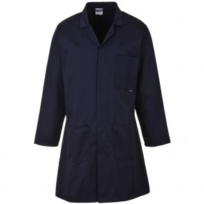 Fortis Standard Warehouse Coat (Navy)