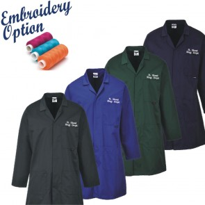 Embroidered Fortis Standard Warehouse Coat