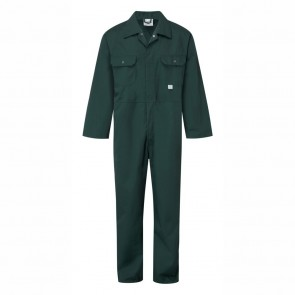 Clearance Castle Spruce Green Stud Front Boiler Suit - Size 38""