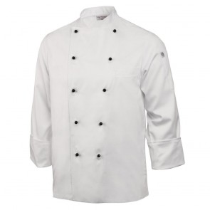 Unisex Chaumont Chef Jacket (Long Sleeve) - White