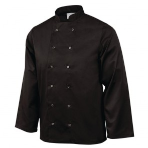 Vegas Chefs Jacket (Long Sleeve) - Black