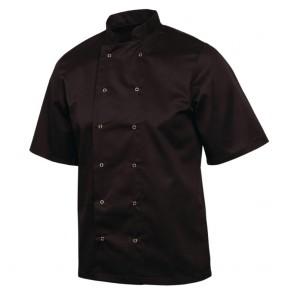 Vegas Chefs Jacket (Short Sleeve) - Black