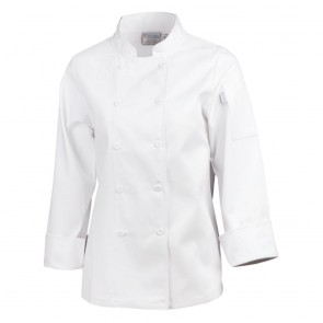 Ladies Chef Jacket - White