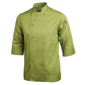 Colour by Chef Works 3/4 Sleeve Jacket - Lime