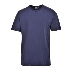 Thermal T-Shirt Short Sleeve - Navy