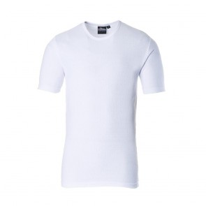 Thermal T-Shirt Short Sleeve - White