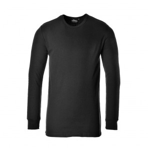 Thermal T-Shirt Long Sleeve - Black